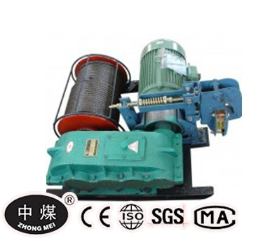 JM series with low speed electric winch