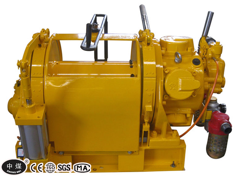 Oil Field Double Drum Air Scraper Winch