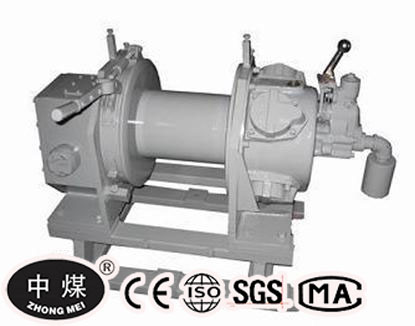 JQHS-100* 8 Pulling Force Piston Air Motor Driven Air Winch