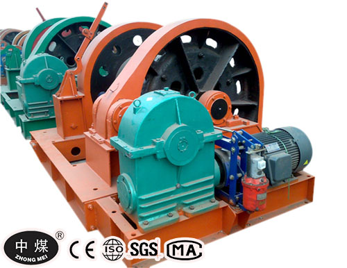 JZ Shaft Sinking Winch for Coal Mining