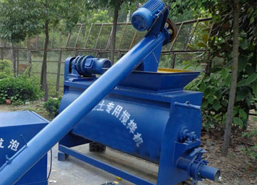 Cement foaming machine