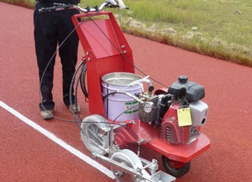 Line Marking Machine for Rubber Sports Ground
