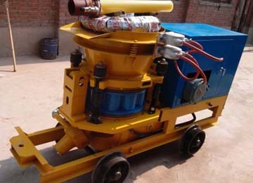 Dry Shotcrete Machine for Construction