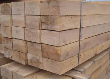Anti-corrosion Wooden Railway Tie