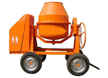 wheels portable mortar mixer,mini concrete mixer