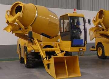 FM3.5-2 3.5CBM Mobile Concrete Mixing Truck