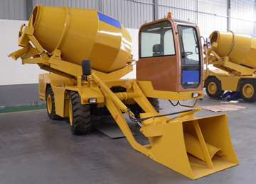 FM3.5-3 Mobile Self Loading Concrete Mixer Truck