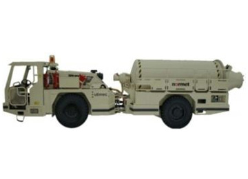 Metro mixer truck with battery