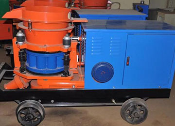 HSP-7  Wet Mix Shotcrete Machine