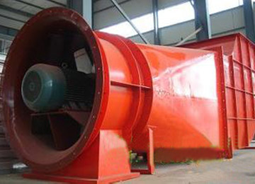 K Series Power Saving Mine Ventilation Fan