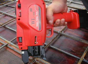 WL-400 Portable Steel Automatic Rebar Tying Machine