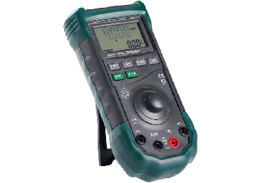 MS7217 Auto Range Loop Calibrator with Push Button and Large LCD Display