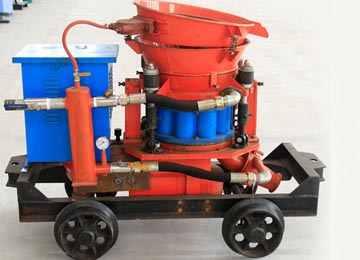 PZ Dry Mix Concrete Shotcrete Guniting Equipment