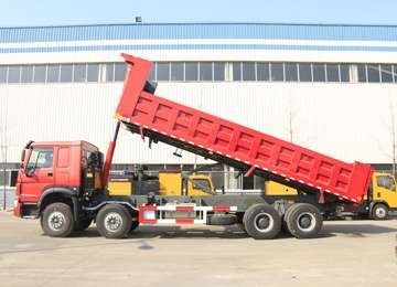 HOWO 8*4 Heavy Duty Tipper Truck