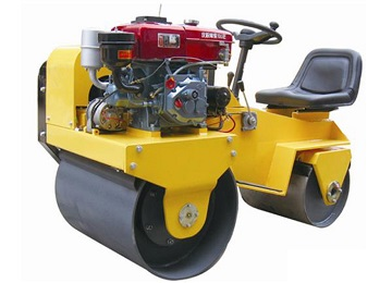 FLY-850S Water-cooled ?ride on double drum tandem vibration compactor Roller