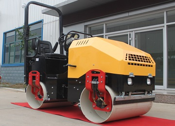 Diesel 2 ton Hydraulic Drive Vibration Roller Compactor