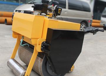 700mm width 0.5ton walk behind vibratory single drum roller