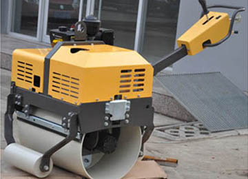 500kg?Vibratory Single Drum Hand Guided Road Roller