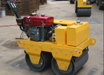 600kg Water Cooled Diesel Double Drum Roller