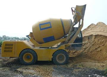 3.5 CBM Self-Loading Transit Mixer