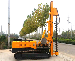 YD-120 Photovoltaic Pile Driver