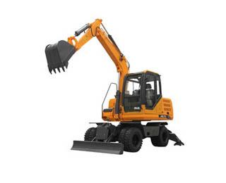JHL70 Hydraulic Wheel Excavator