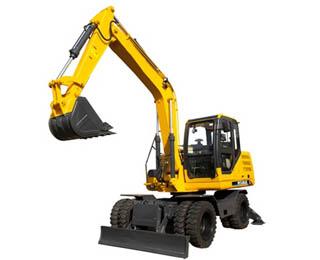 JHL85 8.5 Ton Wheel Excavator