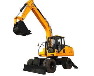 JHL135 13.5 Ton Wheel Excavator