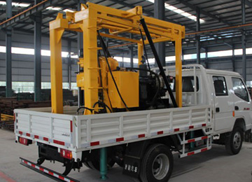 XYC-200GT Truck Mounted Drilling Rig