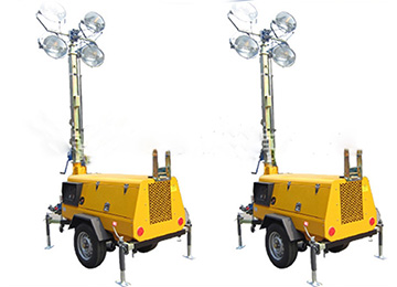 Vehicle Mounted Portable Lighting Towers
