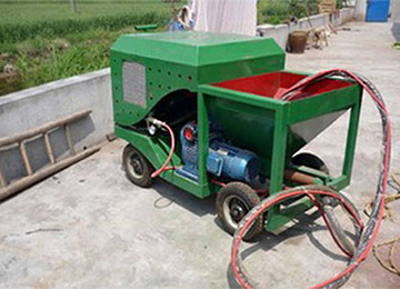 PTJ Playground Rubber Sprayer Machine