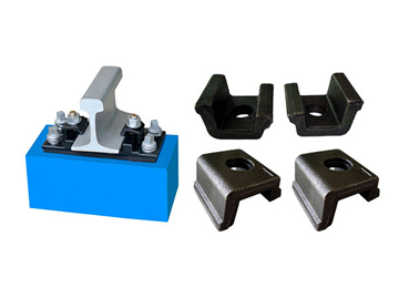 Rail Clamps (KPO) for Railroad Fastening System