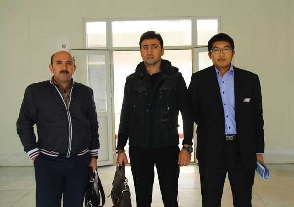 Azerbaijan Customers Visited Shandong China Coal Group for Investigation and Procurement