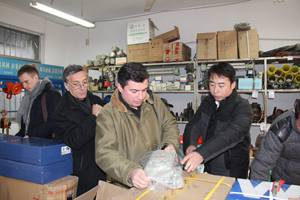 Mining Enterprise Customers From Georgia And Ukraine Visited Shandong China Coal Group For Purchasing