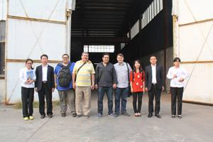 Columbia Clients Come To Shandong China Coal Group To Visit and Purchase