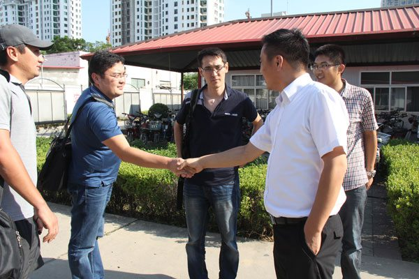 Kazakhstan Customers Visited Shandong China Coal for Investigation and Procurement