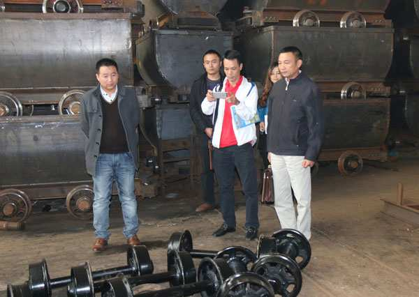 Vietnamese Merchants Visited Shandong China Coal Group for Procurement