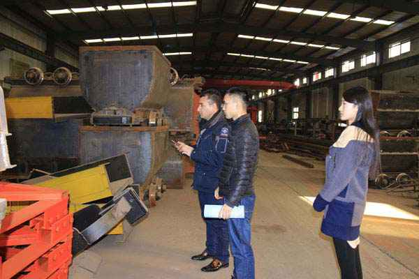 Afghan Clients Visited Shandong China Coal Group for Procurement