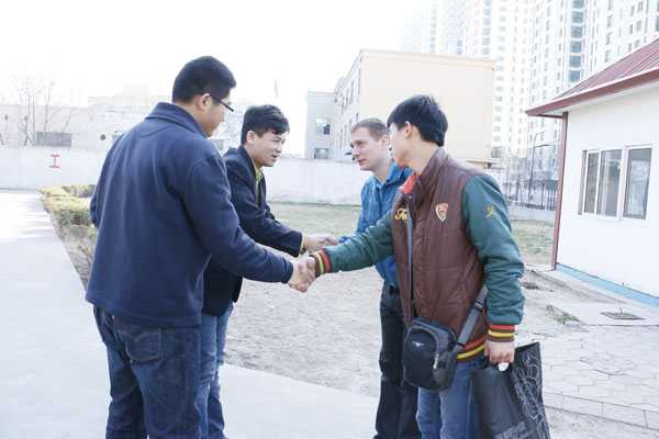 Russia Customers Visited Shandong China Coal Group for Procurement