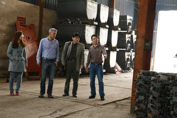 Mexican Customers Visited Shandong China Coal Group for Procurement