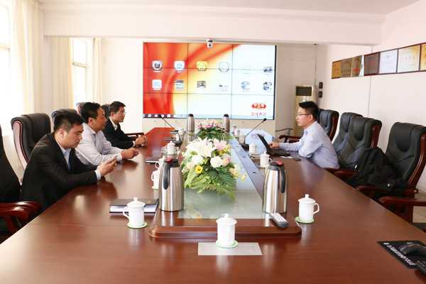 Extended A Warm Welcome to MIIT Experts for Visiting Shandong China Coal