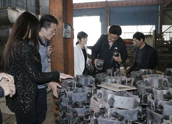 Korean Customers Visited Shandong China Coal Group for Procurement