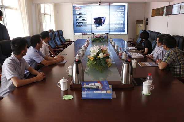 Ecuadorian Customers Visited Shandong China Coal Group for Procurement