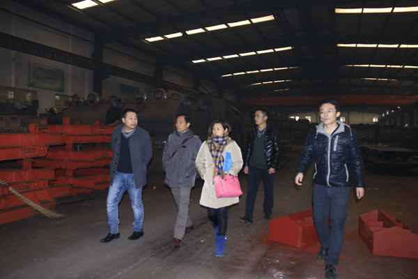 Vietnamese Clients Visited Shandong China Coal Group for Procurement