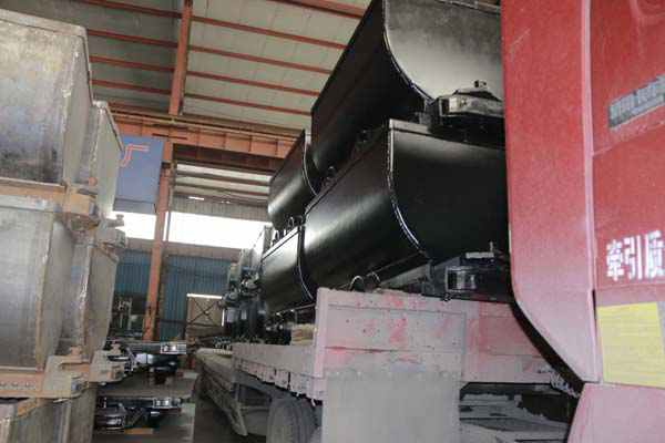 30 Fixed Mine Cars of Shandong China Coal : Be ready for Shaanxi