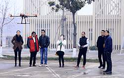 Warmly Welcome Pakistan Customers to Visited China Coal Group for Purchasing UAV