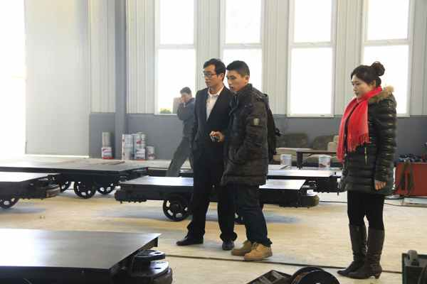 Philippine Clients Visited Shandong China Coal Group for Procurement