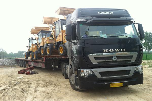 A Batch of Wheel Loaders of Shandong China Transport- Subsidiary of Shandong China Coal: Be ready for Myanmar