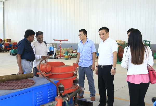 Warmly Welcome Customers from India to Visit China Coal Group for Investigating and Purchasing