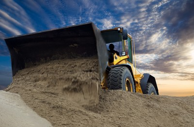 What is Bulldozing Transport Machinery